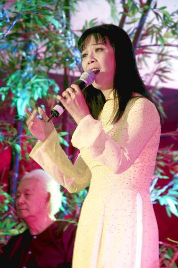 Ca sĩ Ánh Tuyết sẽ tham gia 'Con đường âm nhạc' tháng 3.