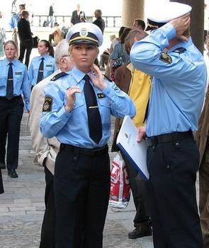 Cảnh sát Thụy Điển.