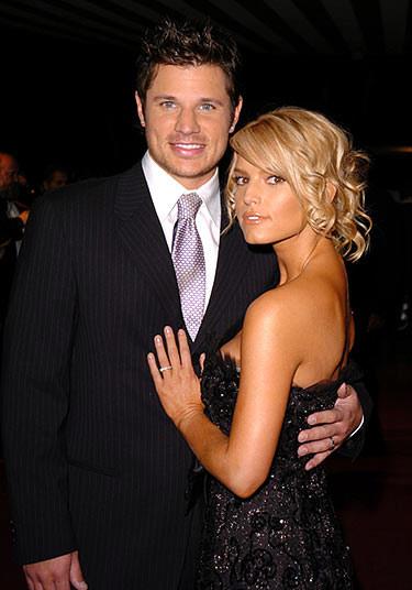 Jessica và chồng cũ Nick Lachey