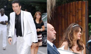 Buffon mở tiệc mừng đám cưới