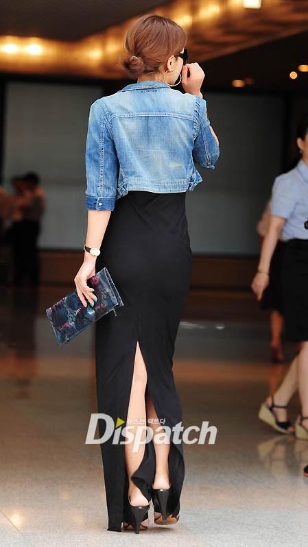 So với thời gian trước, Lee Seung Yeon giảm cân khá nhiều.