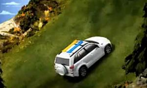 Xế Suzuki leo núi