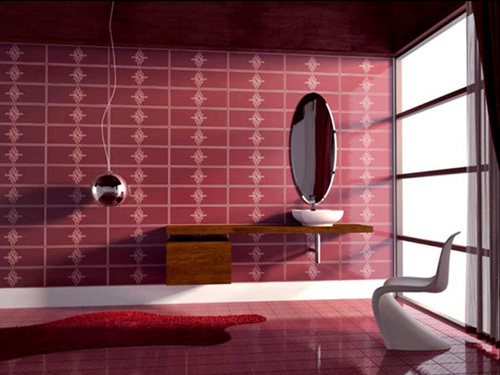 Căn phòng có màu sắc và đồ đạc ấn tượng.