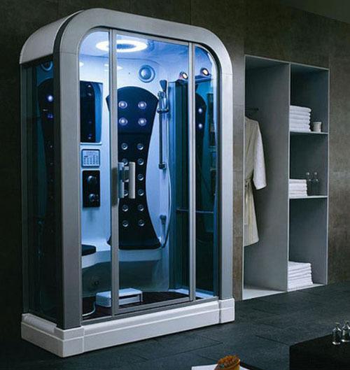 Phòng tắm tiện nghi, hiện đại.