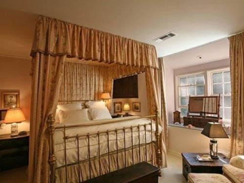 Các phòng ngủ trang nhã, đẹp mắt.