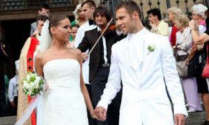 Đám cưới lãng mạn của sao Hungary