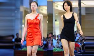 Chiếc váy may mắn của Vietnam's Next Top Model
