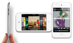 Mở hộp iPod Touch đầu tiên có màu trắng