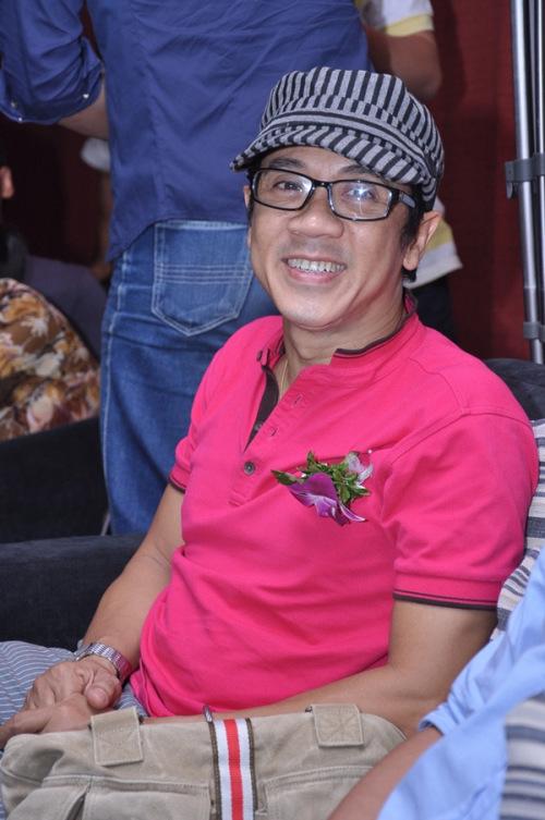 Nghệ sĩ Thành Lộc cũng có mặt chúc mừng lứa nghệ sĩ trẻ.