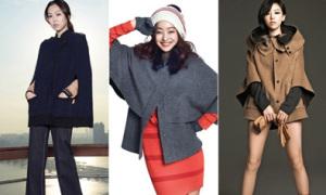 5 kiểu áo khoác hot mỹ nhân Hàn diện mùa đông