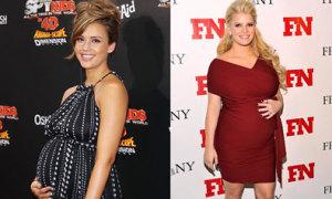 Những bà bầu nổi tiếng năm 2011