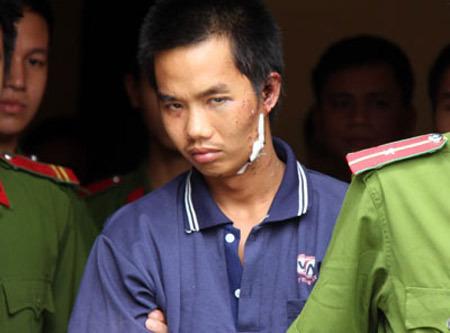 Đặng Trần Hoài, kẻ đã hiếp dâm, sát hại 2 chị em bé gái ở Hoài Đức. Ảnh: Thái Thịnh