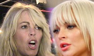 Lindsay Lohan cãi nhau nảy lửa với mẹ