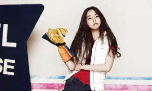 Sohee nghịch ngợm với phong cách khỏe khoắn