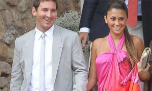 Messi hạnh phúc khi làm bố