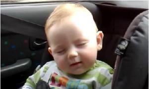 5 clip em bé ngủ gật hớp hồn cư dân mạng