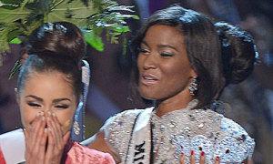 Hoa hậu Hoàn vũ 2011 gây sốc với hình ảnh xấu xí