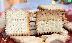 Bánh quy bơ quế Merry Christmas