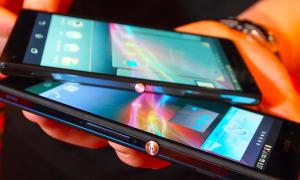 Smartphone Full HD đầu tiên của Sony trình làng