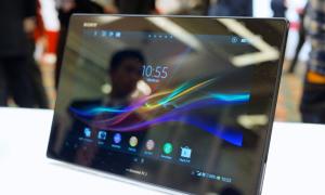 Xperia Tablet Z 'đẹp từng centimet'