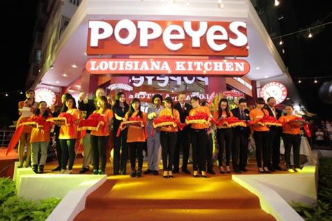 Popeyes® đã chính thức có mặt tại số 62 Nguyễn Đức Cảnh, Phú Mỹ Hưng, Quận 7, TP.HCM