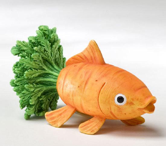Cá cà rốt xinh yêu.