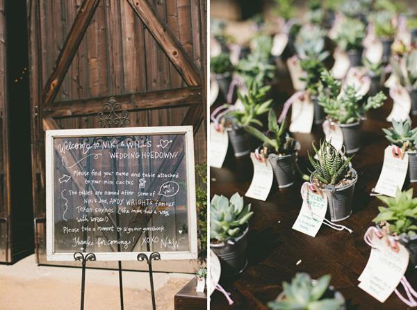 Cô dâu chú rể có thể chọn cây hoa đá, hoa xương rồng hay những loại cây dễ sống để tặng khách.