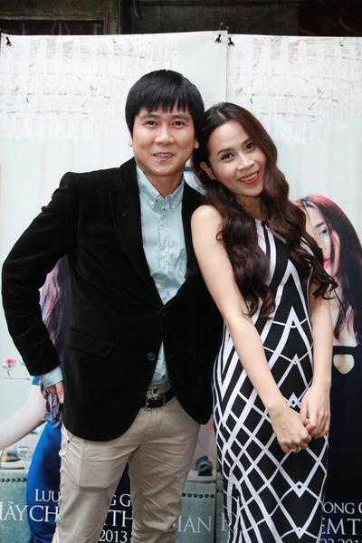 Vợ chồng Hồ Hoài Anh, Lưu Hương Giang tình tứ trong ngày ra mắt single mới.