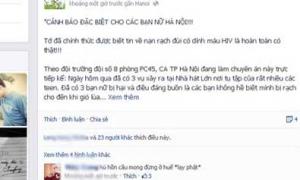 Rộ tin 3 cô gái Hà Nội bị rạch đùi ở Nhà hát Lớn