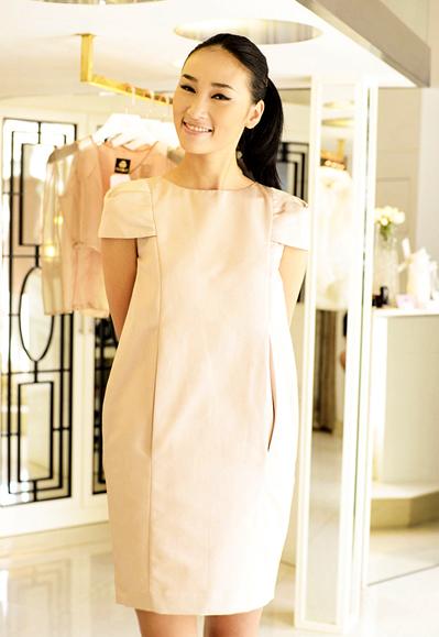 Quán quân VN's Next Top Model mùa đầu tiên Huyền Trang