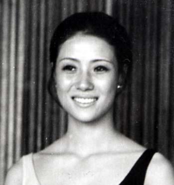 Hoa hậu Hàn năm 1972.
