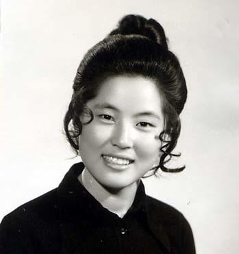 Hoa hậu Hàn năm 1973.