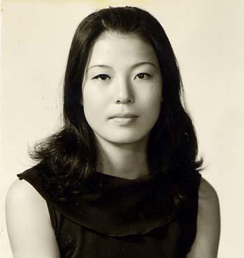 Hoa hậu Hàn năm 1974.