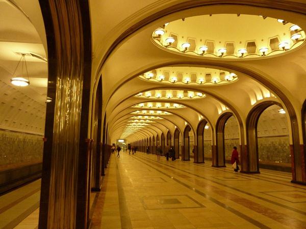 Hệ thống ga tàu điện ngầm được đánh giá là một trong những nhà ga đẹp nhất hành tinh.