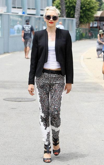 Nữ ca sĩ cá tính Gwen Stefani.