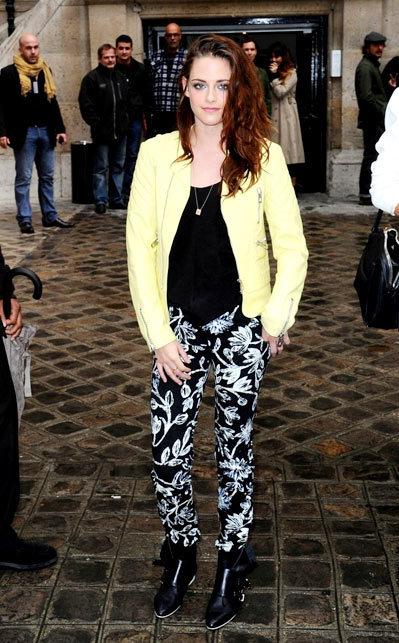 Kristen Stewart 1 Balenciaga Spring 2013.
