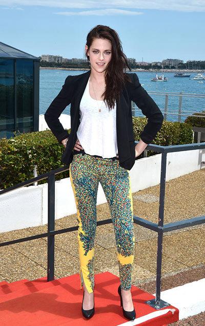 Kristen Stewart .