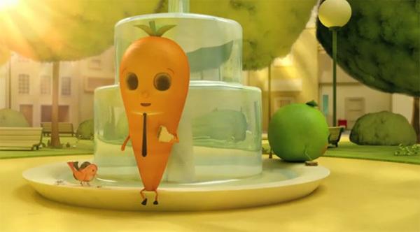 Hành trình đi tìm tình yêu của cà rốt và đậu Hà Lan