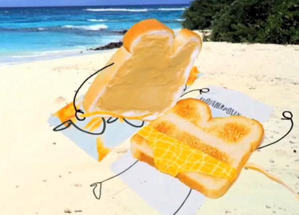 Chuyện tình dễ thương của bánh mỳ