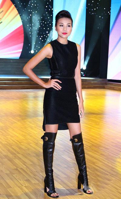 Thanh Hang Liveshow thứ 6 của Bước Nhảy Hoàn Vũ 2013.