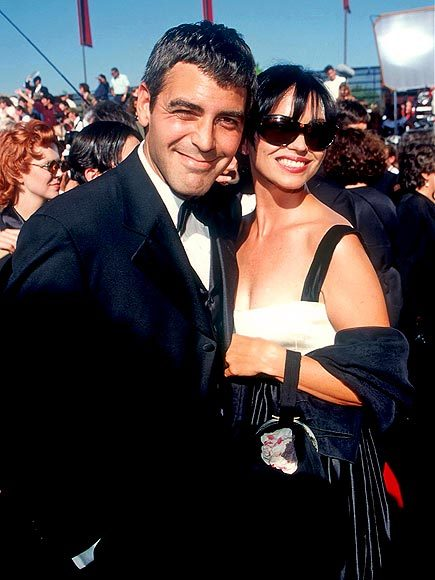 George Clooney và Karen Duffy