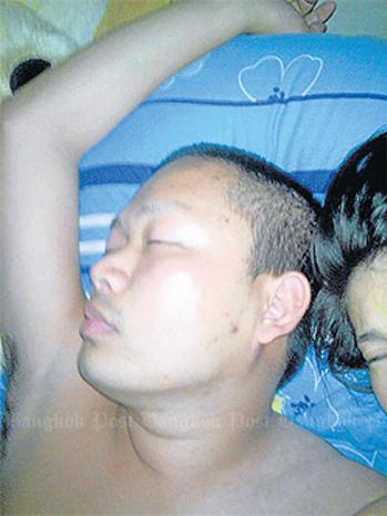 Bức ảnh của sư Luang Pu Nen