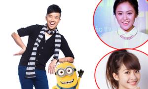 Sao Việt bắt chước hát theo nhân vật Minion