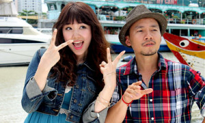 Rapper Tiến Đạt khoe bạn gái Hàn Quốc xinh đẹp