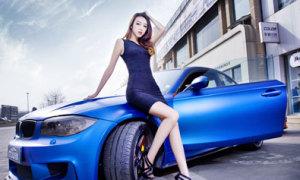 BMW độ đọ dáng cùng người đẹp