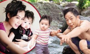 'Hoàng Dung' Chu Ân khoe con gái xinh xắn