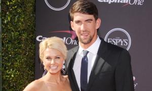Michael Phelps đưa bạn gái nhỏ xinh lên thảm đỏ
