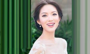 Váy cưới Trương Tử Lâm gần 2.000 USD