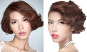Biến hóa make up với 'cô dâu' Minh Tú