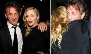 Madonna thắm thiết ôm chồng cũ